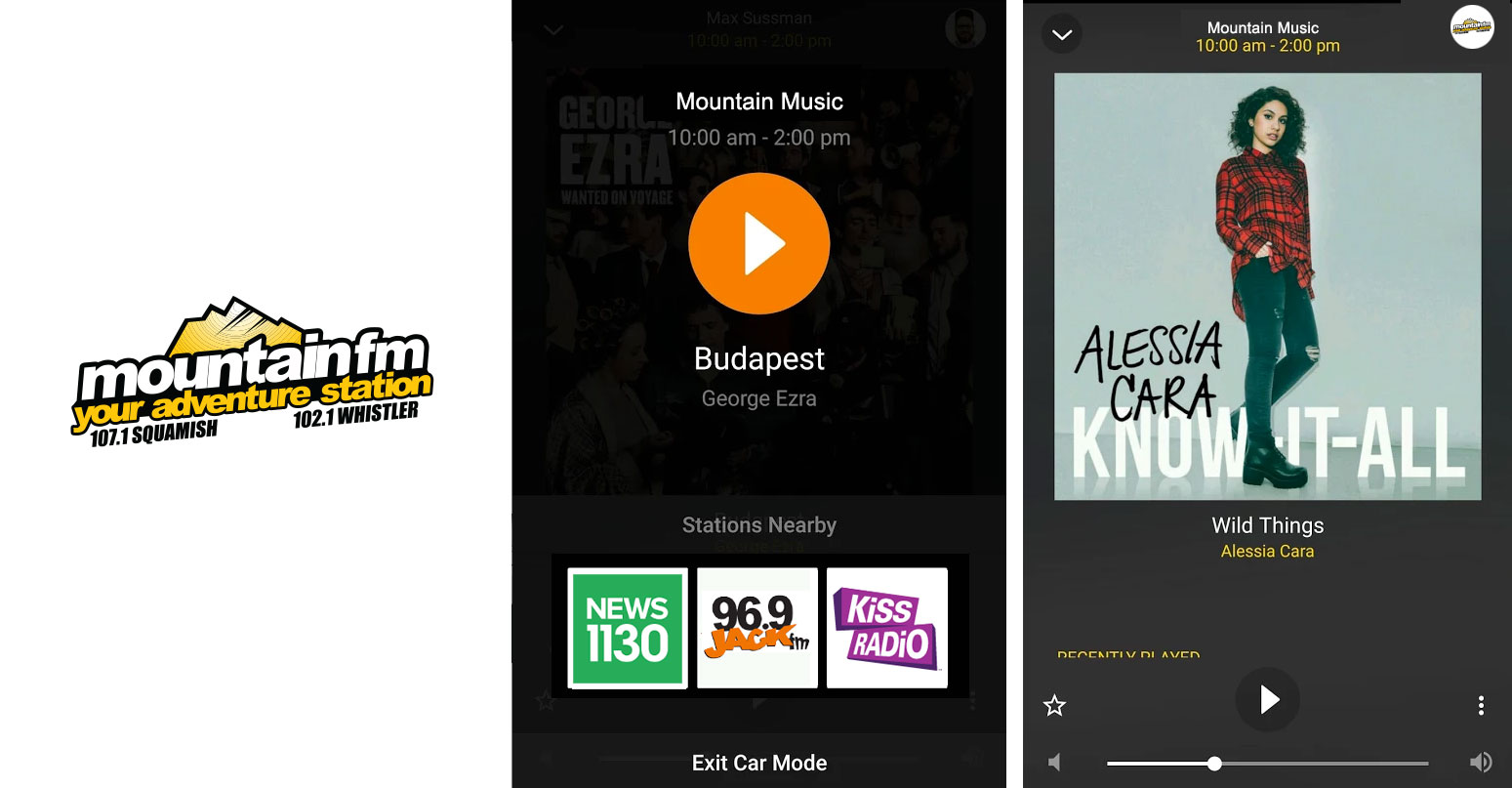 We've completely re-imagined and re-designed the Mountain FM app! Check out the updates and let us know what you think!