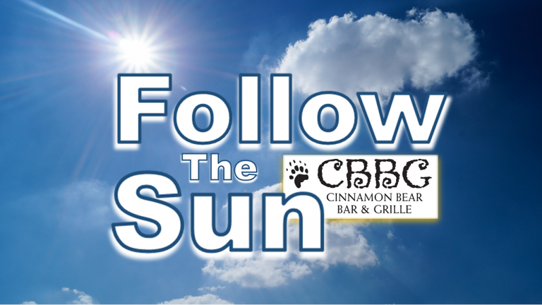 Follow the Sun banner